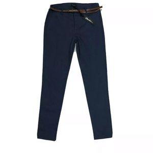 Navy Blue Womens Dress Pants Size M
